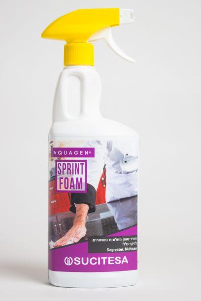 Sprint Foam – נקיון כל סוגי המשטחים